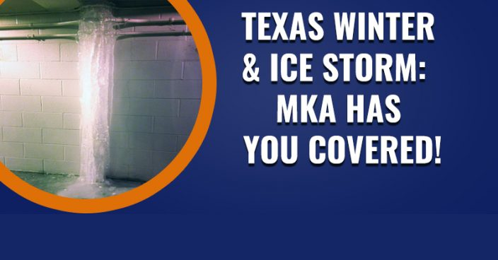 Texas Winter and Ice Storm : MKA has you covered